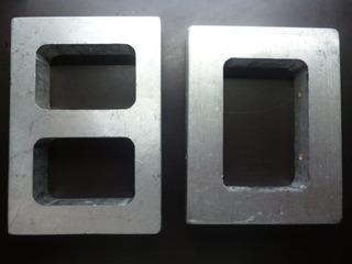 Par De Números 80 O 08 Aluminio Sólido 2cm Espesor Seminuevo