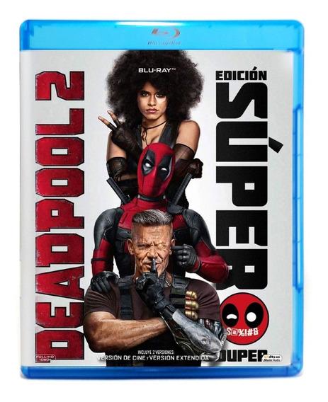 Deadpool 2 Dos Ryan Reynolds Edicion Super Blu-ray + Bonus