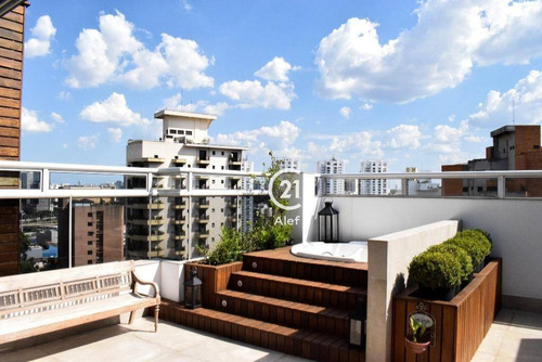 Imagem 1 de 30 de Cobertura Com 3 Dormitórios À Venda, 375 M² Por R$ 1.900.000,00 - Real Parque - São Paulo/sp - Co0996