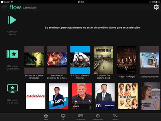 Fl**ow Cablevi**sion 1 Año Pack Fox Hbo On Demand Recargado