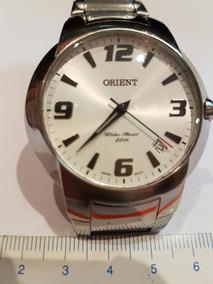 Relógio Orient Original Modelo Mbss1 098 Fundo Branco