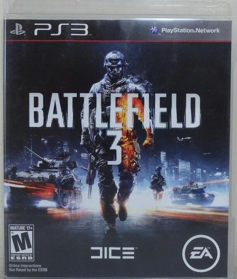 Jogo De Ps3 Battlefield 3 Em Mídia Física