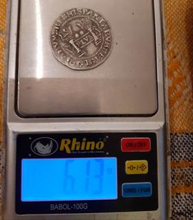 Monedas Macuquinas Carlos Y Juana 2 Reales