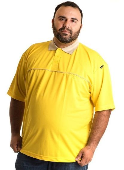 Camisa Polo Manga Curta Plus Size 9581