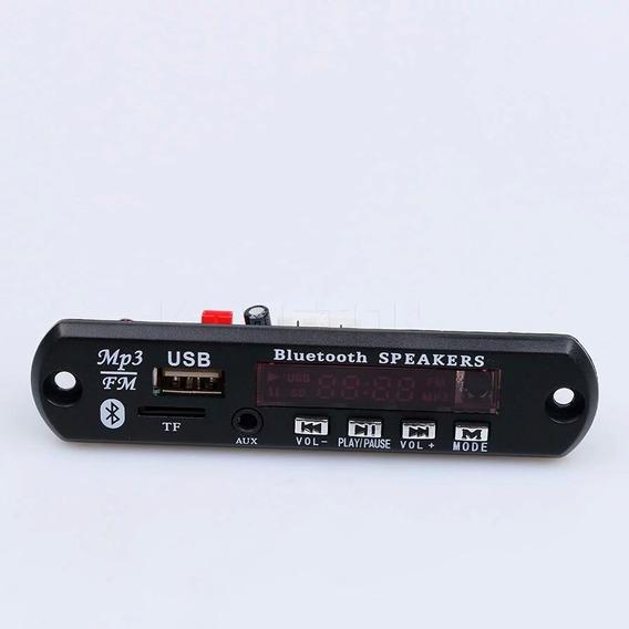 Amplificador Classe D Pam8610 15+15 W + Placa Mp3 Bluetooth