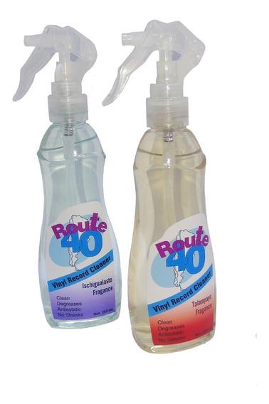 Limpiador Liquido Para Discos De Vinilo Route40 Pasta Lp