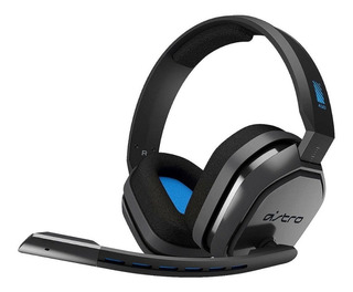 Audifono C/microfono Astro A10 For Ps4 Wired Gray Blue