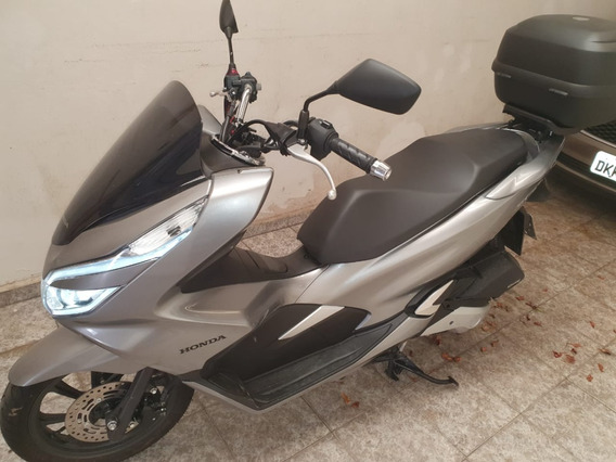 Honda Pcx 150, 2019, Prata Com Apenas 184 Km Rodados