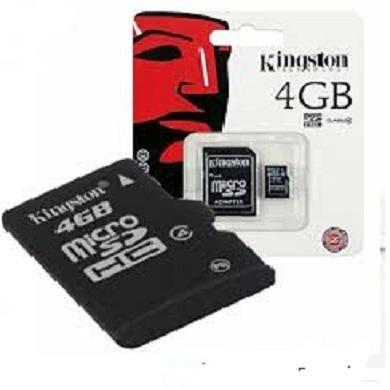 Memoria Micro Sd 4 Gb Kingston___5 Ver-d Tienda