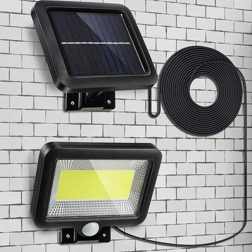 Reflector Solar Led Impermeable Luz Lampara Para Exteriores
