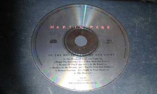 Martin Page - In The House Of Store And Light (cd)