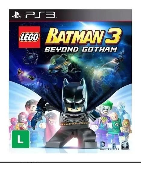 Lego Batman 3: Além De Gotham - Psn Ps3 - Envio Imediato