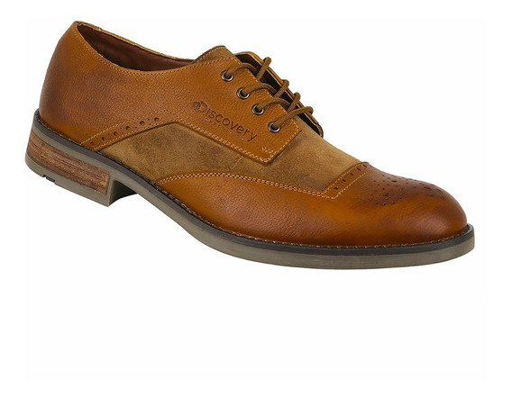 Zapato De Piel Discovery Ds2012 Color Miel. Hombre