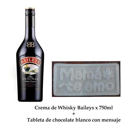 Crema Whisky Baileys 700ml + Tableta De - mL a $106