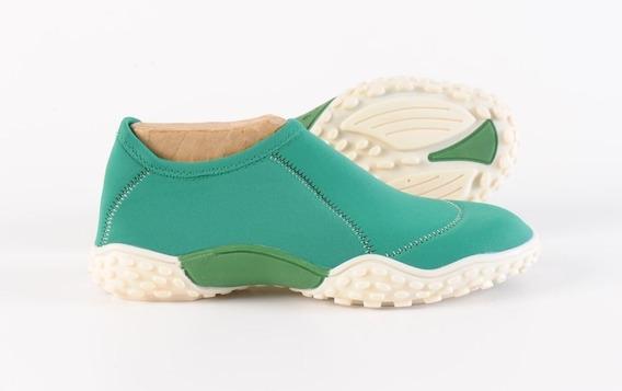 Zapatillas Elastizadas Doblele Alfa Hombre Verde Amazonas