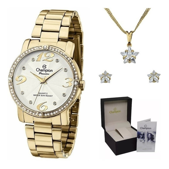 Relógio Champion Passion Feminino Ch24768w Original C/ Nfe
