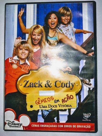 Dvd Zack E Cody Gêmeos Em Ação Uma Doce Vitória Disney