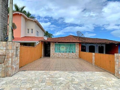 Casa Com 2 Dormitórios À Venda, 135 M² Por R$ 380.000,00 - Morada Praia - Bertioga/sp - Ca0040