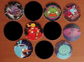 7 Tazos Tazo Angry Birds Space 2014 Sabritas
