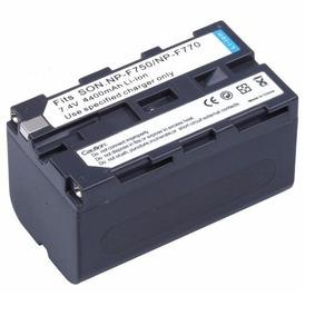 Bateria Np-f750 F770 Iluminador Led 4400mah Yn300 Yn360