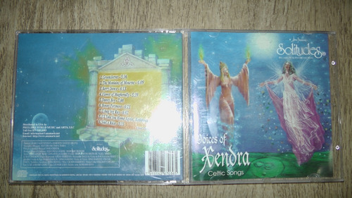 Cd Voices Of Xendra - Celtic Songs Solitudes