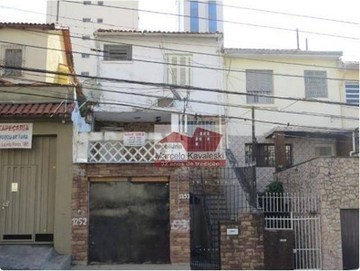 Sobrado Residencial Para Locação, Cambuci, São Paulo. - So1840