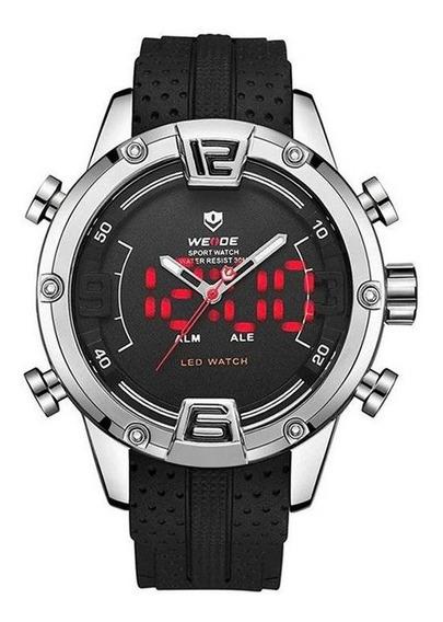 Relógio Masculino Weide Anadigi Wh-7301 + Nota Fiscal