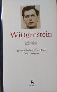 Grandes Pensadores Gredos Nº 13 Wittgenstein I