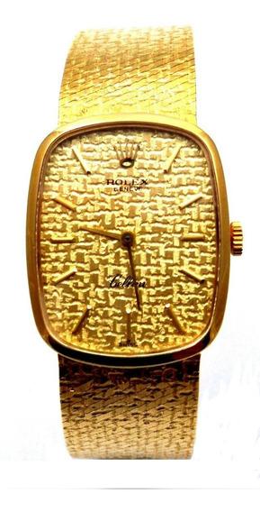 Rolex Cellini - Ouro - Masculino - Manual - Certificado