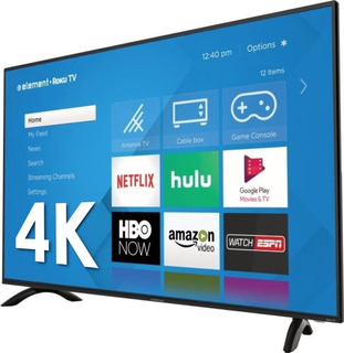 Pantalla Smart 4k Roku Tv Element E4sw5017rku 50 Pulgadas