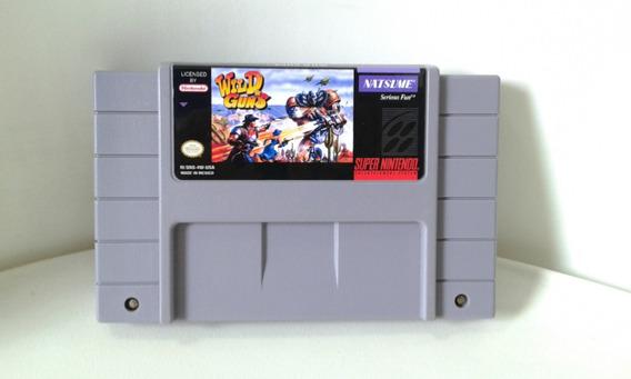 Wild Guns - Super Nintendo Snes - Original