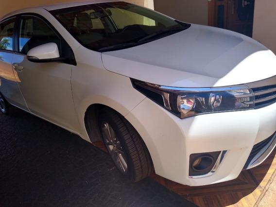 Corolla Xei 2.0 Branco Perolizado 2015 Completo