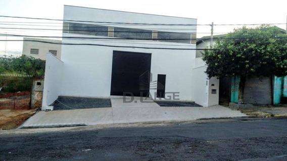Barracão Com 311 M² Por R$ 880.000 - Jardim Do Lago - Campinas/sp - Ba1033