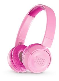Fone De Ouvido Supra Jbl Jr300bt Junior Bluetooth Rosa