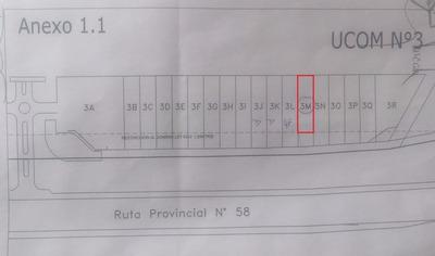 Lote 1760 M2, Inmejorable Ubicación Sobre Ruta 58 Km 14
