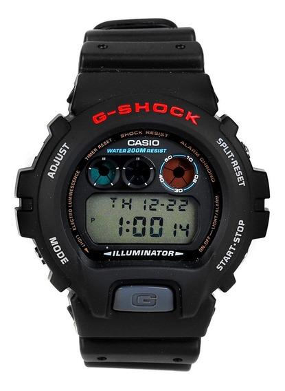 Relógio Casio G Shock Dw69001vdr Preto Vermelho Original