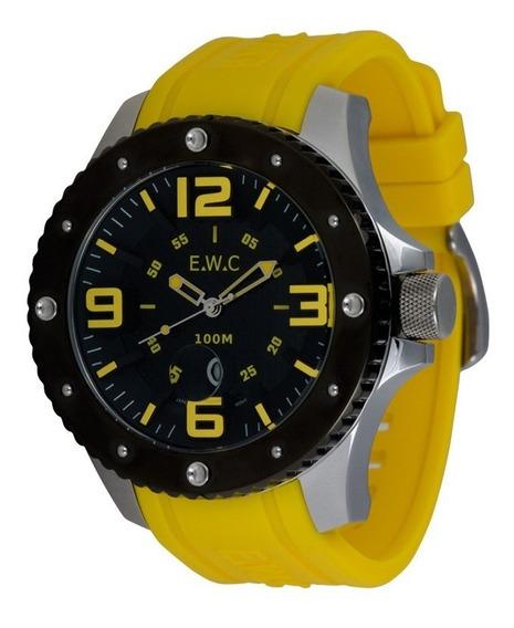 Relógio Analógico Masculino E.w.c Emt11323-a Oferta