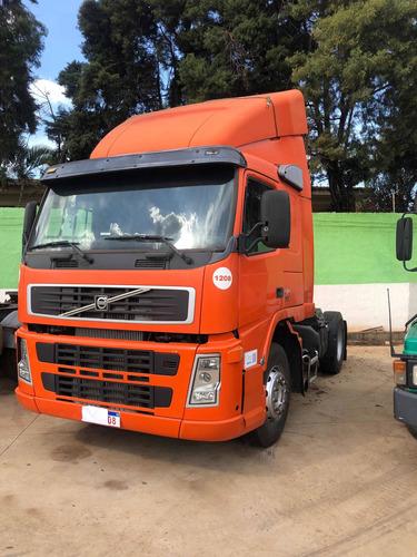 Imagem 1 de 11 de Caminhão Volvo Fm12 340 Cavalo Toco 4x2