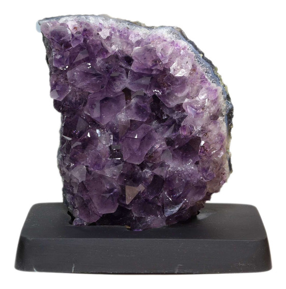 Drusa De Ametista Na Base - Pedra Da Cura E Equilíbrio