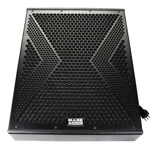 Monitor Ativo Mark Audio Mmk 12 Digital 500 Wrms Titânium