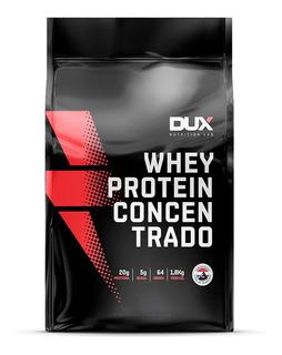 Whey Protein Concentrado Dux Original 1,8kg Refil Sabores