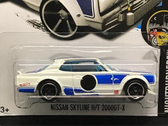 Hot Wheels Nissan Skyline H/t 2000gt-x - Branco 2017