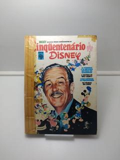 Gibi - Cinquentenário Disney - Ed. Abril - Raro