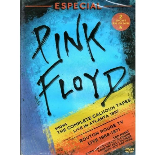 Dvd Pink Floyd - Espcial Shows Atlanta 87 E Bouton Rouge 68