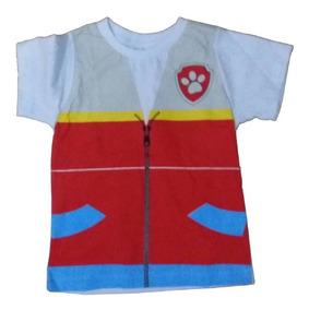 Camiseta Infantil Ryder Patrulha Canina