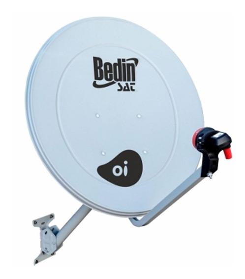 Kit 6 Antena Parabólica Banda Ku Be-60cm Bedinsat