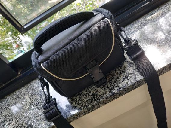 Bolsa Bag Macia Câmera Semi Profissional Dsrl Usada Com Alça