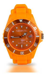 Reloj Rubberchic Basic Naranja