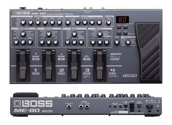 Pedaleira Boss Me80 Para Guitarra Digital