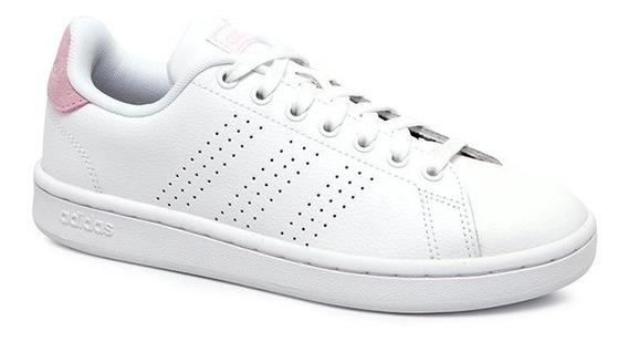 Tênis adidas Advantage Feminino F36481 Branco/rosa